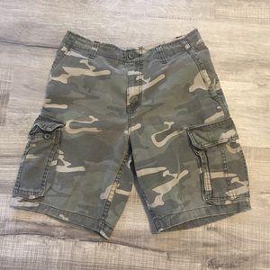 Faded Glory camp cargo shorts. Size 30